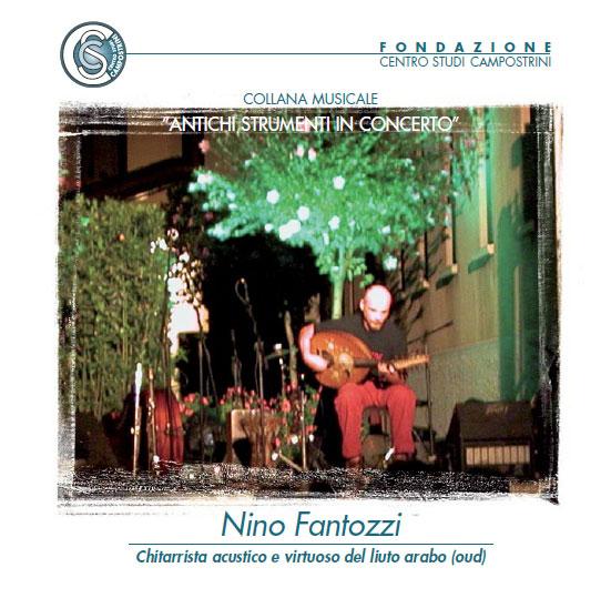 Nino Fantozzi - chitarrista e virtuoso del liuto arabo (oud)
