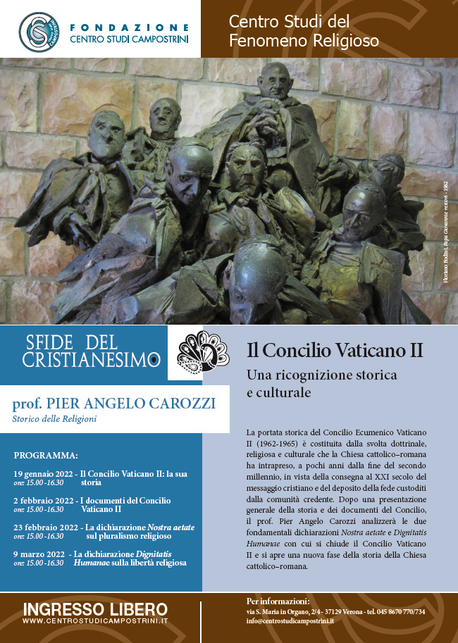 Seminario - IL CONCILIO VATICANO II: UNA RICOGNIZIONE STORICA E CULTURALE